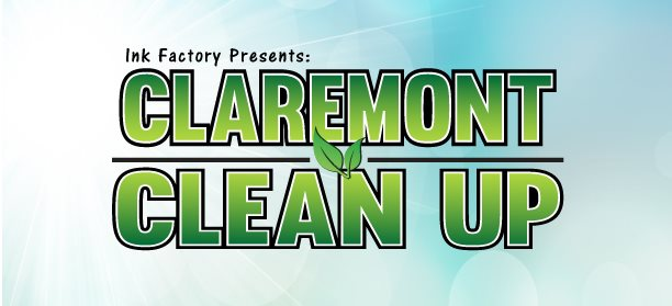 Ink Factory Clean Up Day Logo