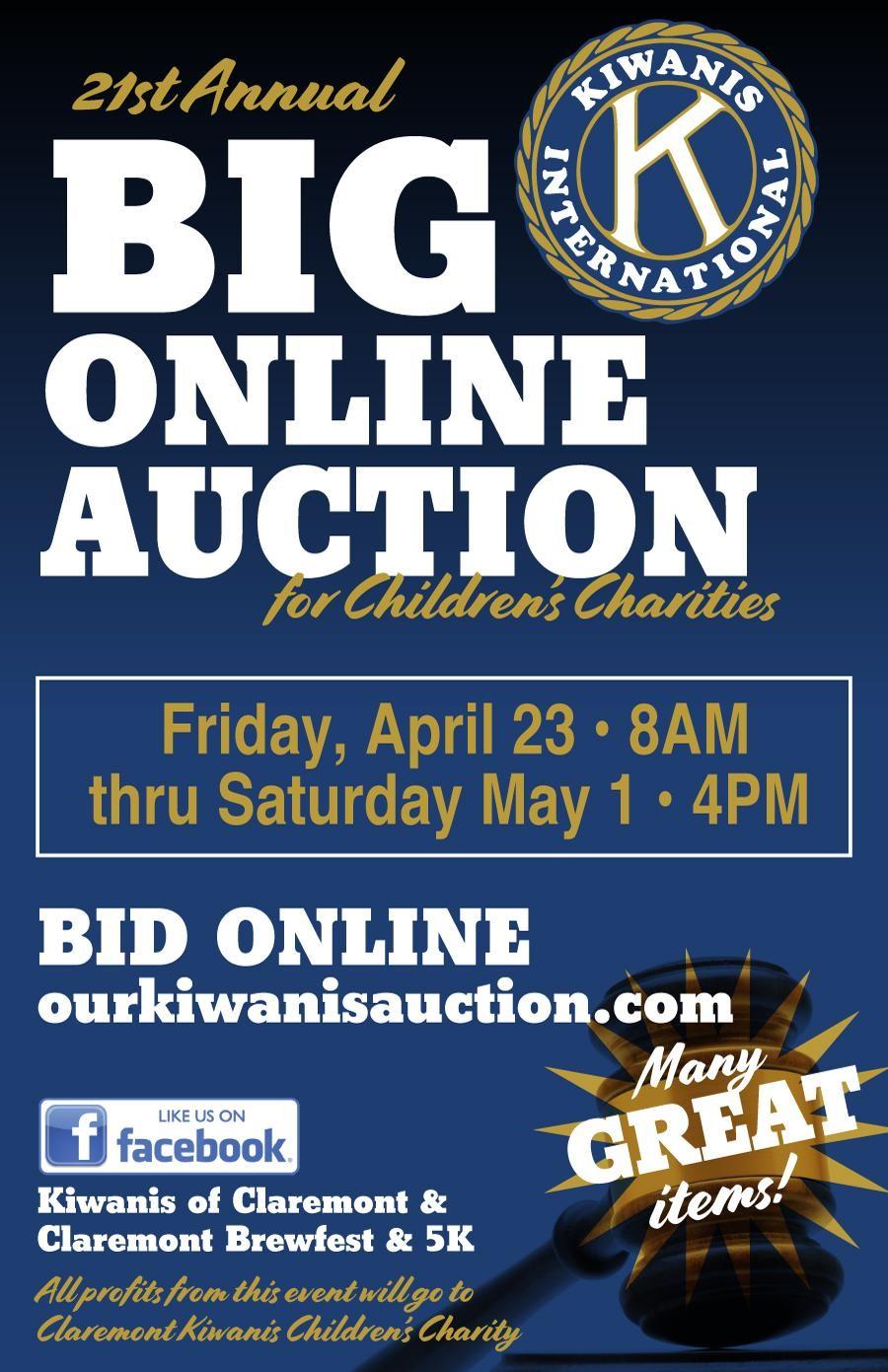 Kiwanis Auction Flyer