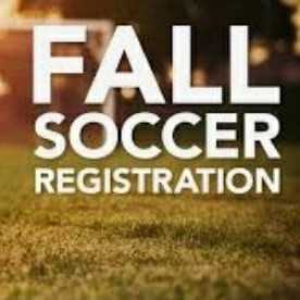 Fall Soccer Registrations