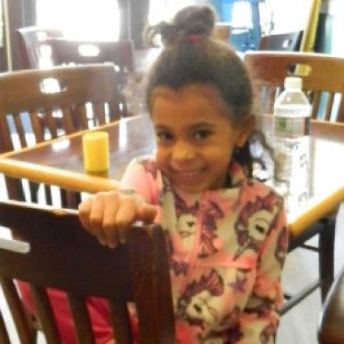 Erol's Granddaughter at Sunshine Cookshop Celebration