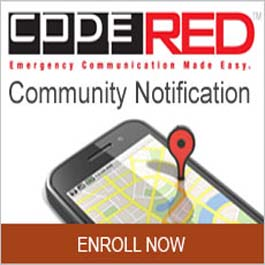 Graphic for Code Red Communication Notification